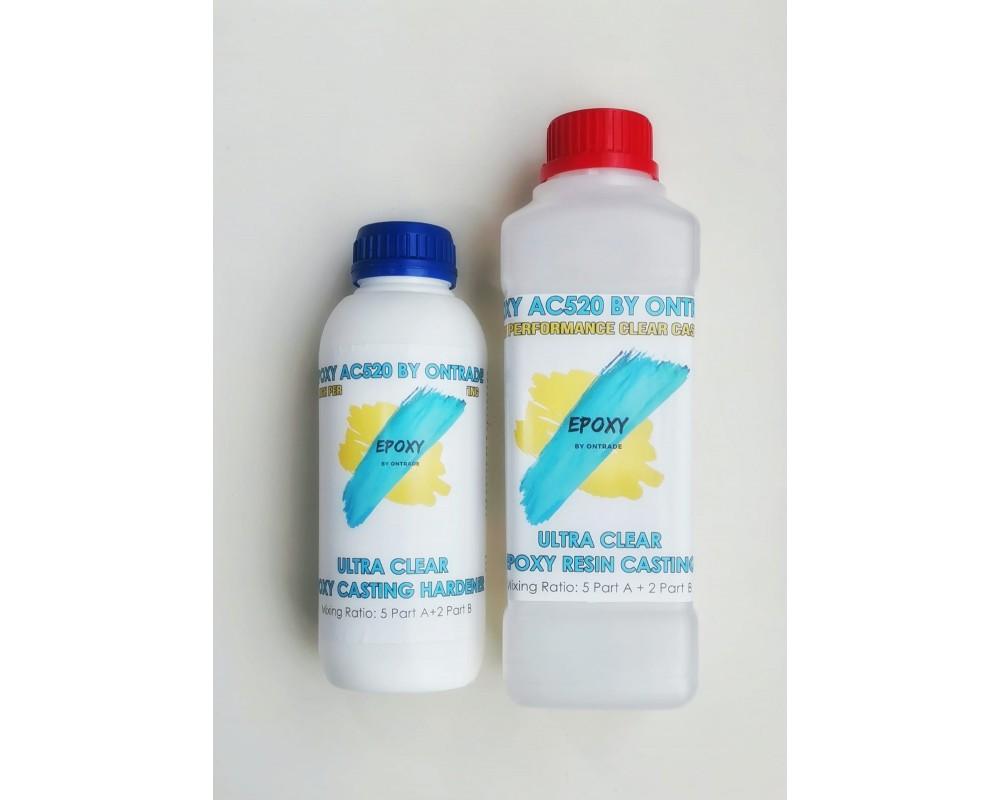 Епоксидна смола Ultra Clear Epoxy Casting AC 520 - Епоксидни смоли