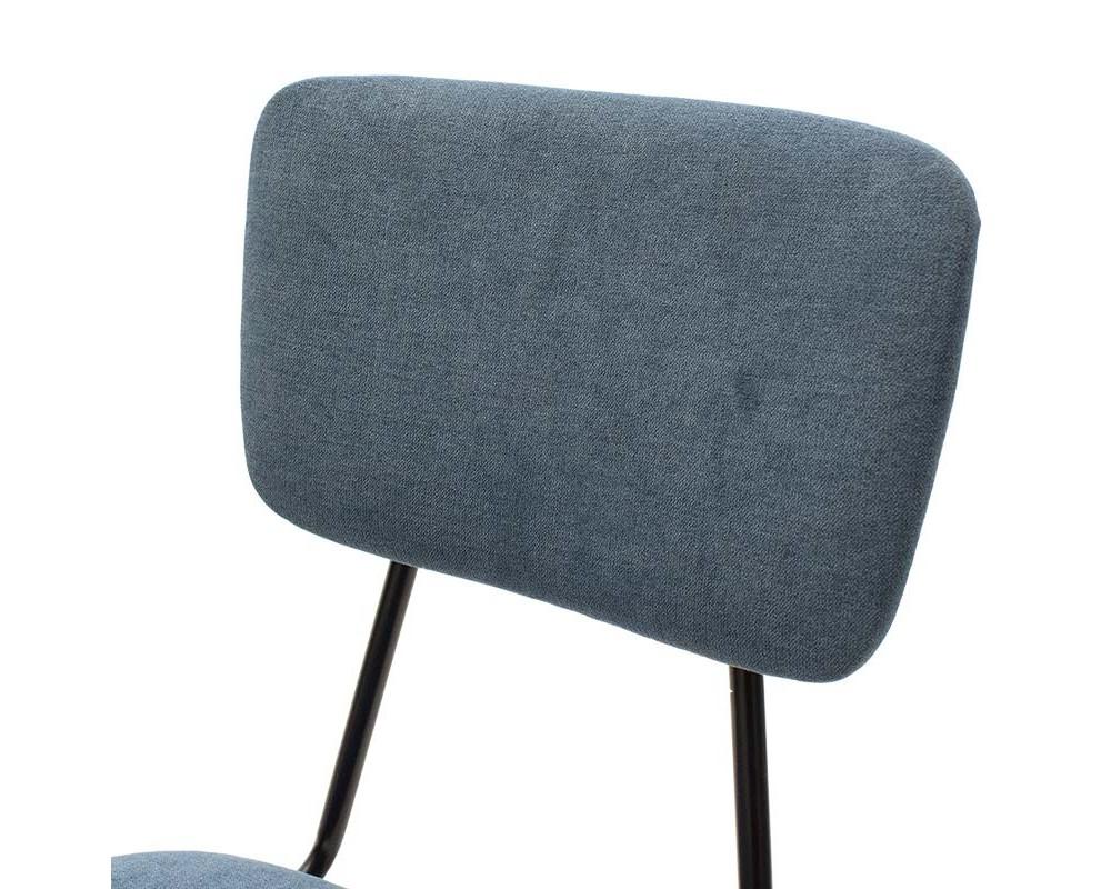 Стол Tania синя материя - Трапезни столове